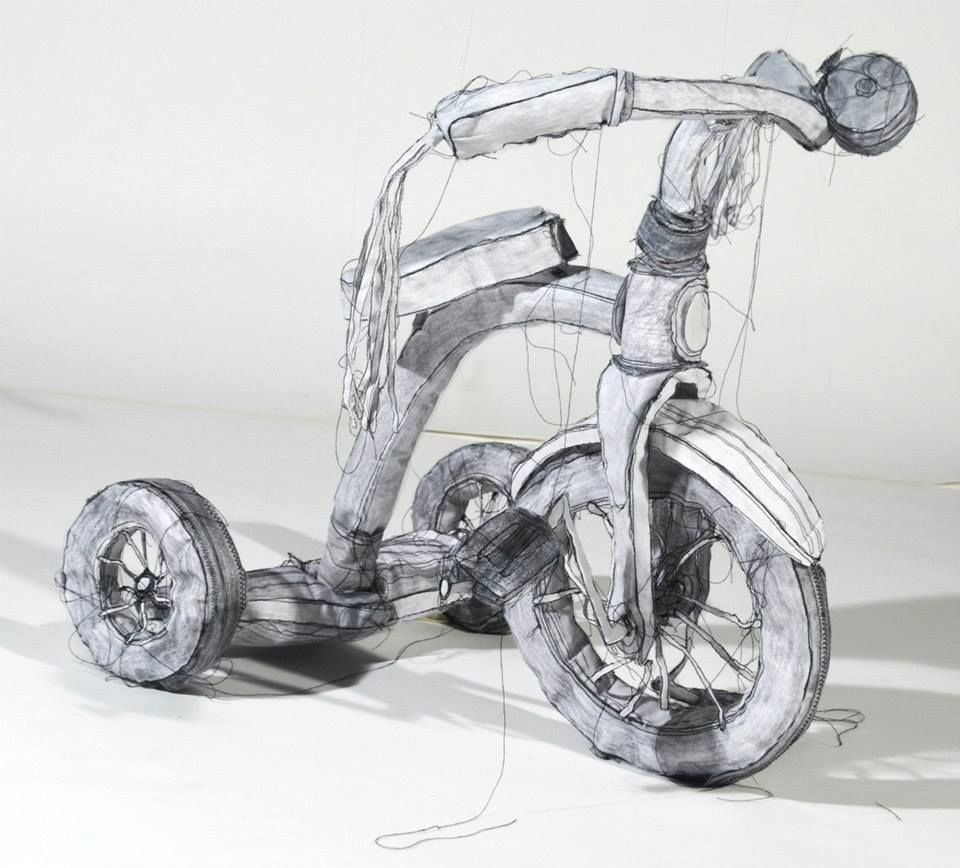 The three dimensional sculptural drawings of Jannick Deslauriers