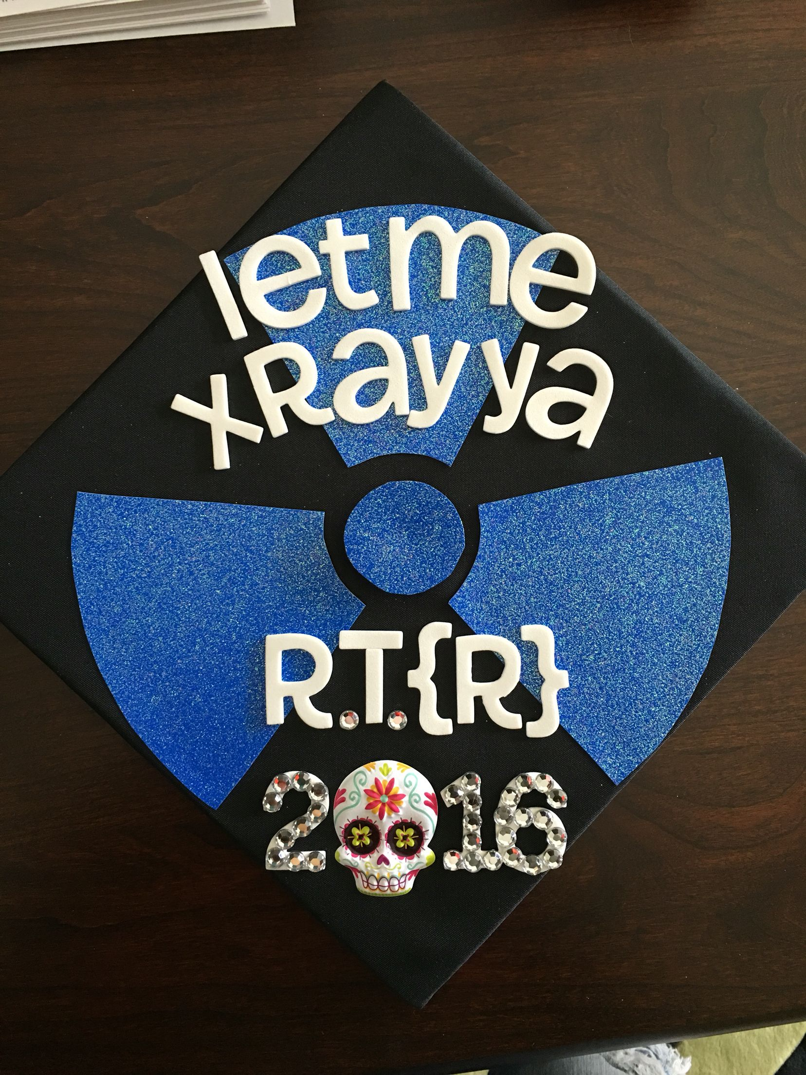 X,Ray graduation cap! Graduation Cap Designs, Graduation Cap Decoration,  Graduation Day