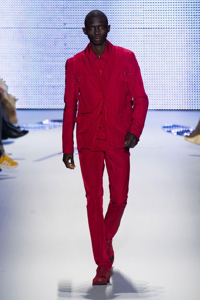 D file lacoste pr t porter automne hiver 2014 2015 costume homme rouge - Costume homme pret a porter ...