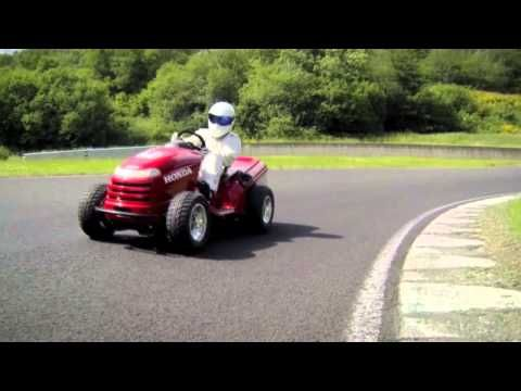 Hot Rod Lawn Mower the fastest way to get that yard work