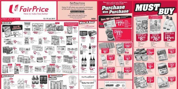 Ntuc Fairprice Singapore Your Weekly Saver Promotion 13 19 Jul 2019 Savers 10 Things Wine And Beer