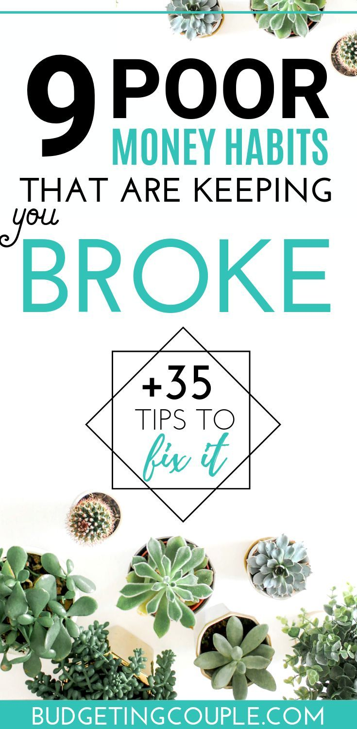 Why Am I Poor? Top 35 Tips To Stop Being Broke and Start Saving Money #startsavingmoney