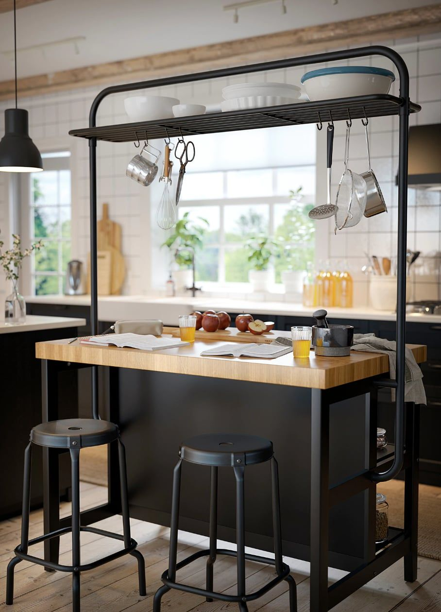 10 inexpensive kitchen island ideas to upgrade your space for cheap in 2020 with images ikea on kitchen island ideas cheap id=56667