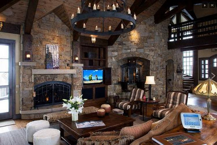 Dream Home Luxury Rustic Homes 34 Photos Suburban Men Rustic House Contemporary Rustic Decor Rustic Home Design