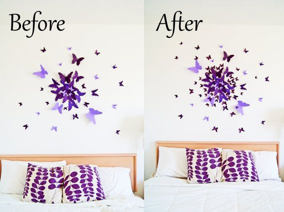 Free Us Shipping Extra 40 Small Erfly Wall Art By Leeshay 20 00
