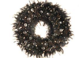 Une couronne sophistiquée noire