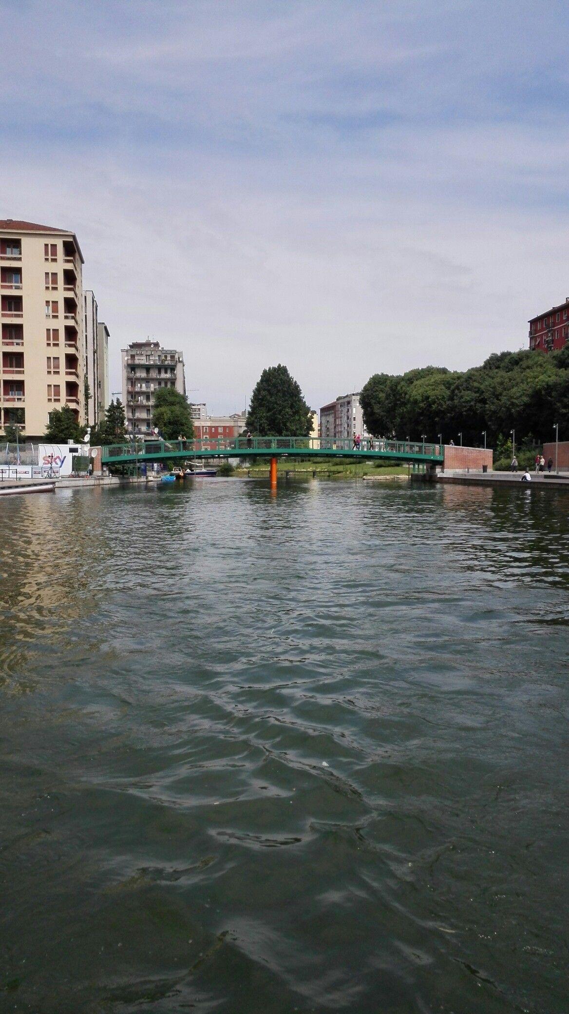 Darsena on Navigli in Milan