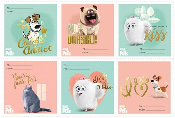The Secret Life Of Pets Opening July 8 2016 Printable