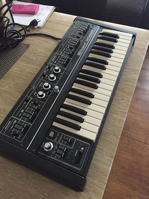 Matrixsynth Roland Sh 2 Synthesizer Sh2 Includes Briefcase