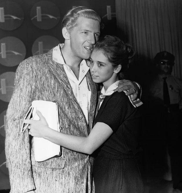 Jerry Lee Lewis i Myra Gale