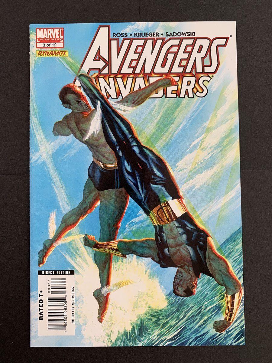 INVADERS # 3 AVENGERS NEAR MINT *