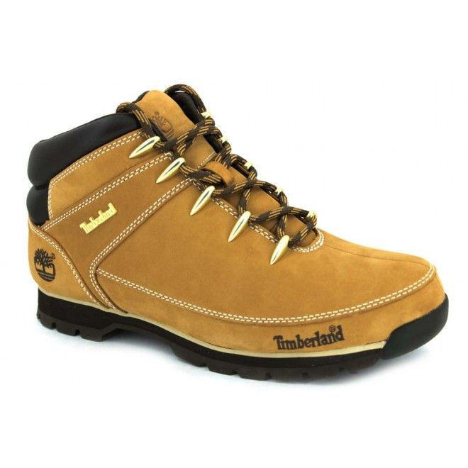 9a0bc7587ce Timberland Euro Sprint Hiker A122L y A1219 Botas tobilleras de piel para  hombre de estilo montañero