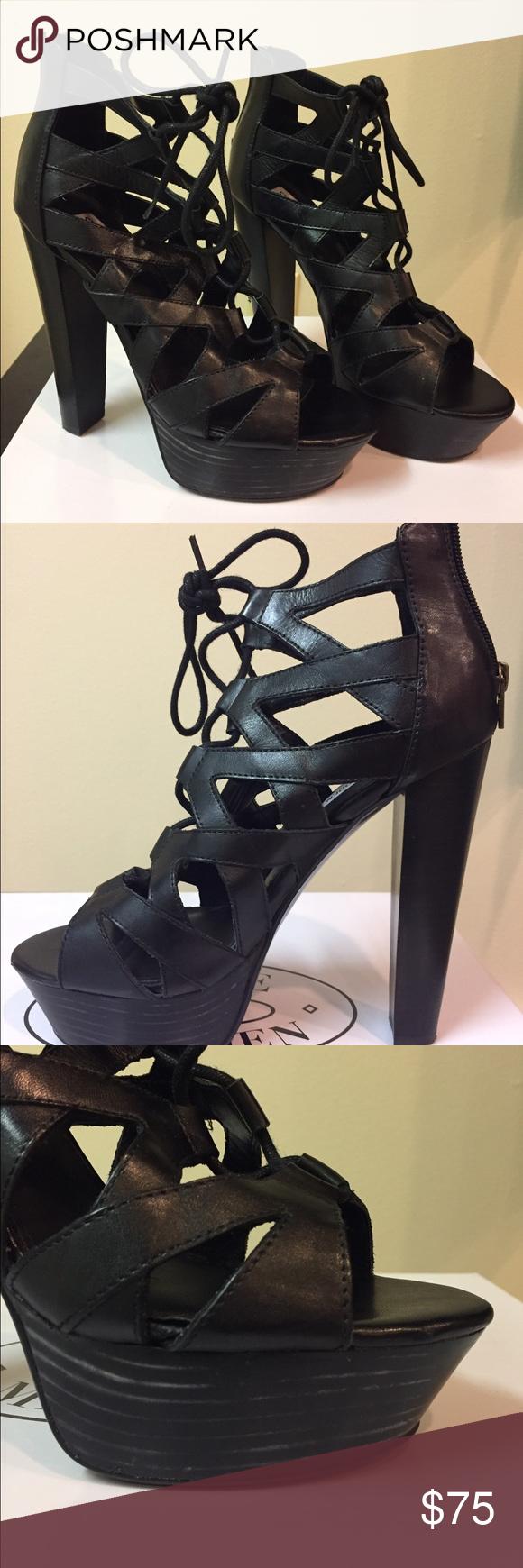 bc9d6ba5660 Steve Madden Dream Girl heels Beautiful shoe, size 8! 5 1/2