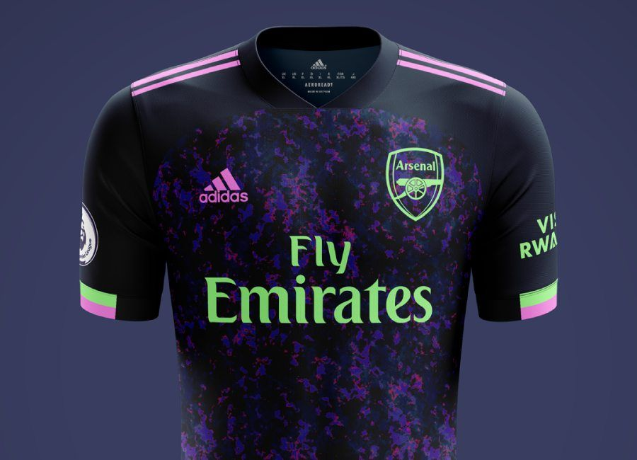 Arsenal 2020 21 Away Kit Prediction Arsenal Arsenalfc Wearethearsenal Arsenal Football Outfits Arsenal Kit
