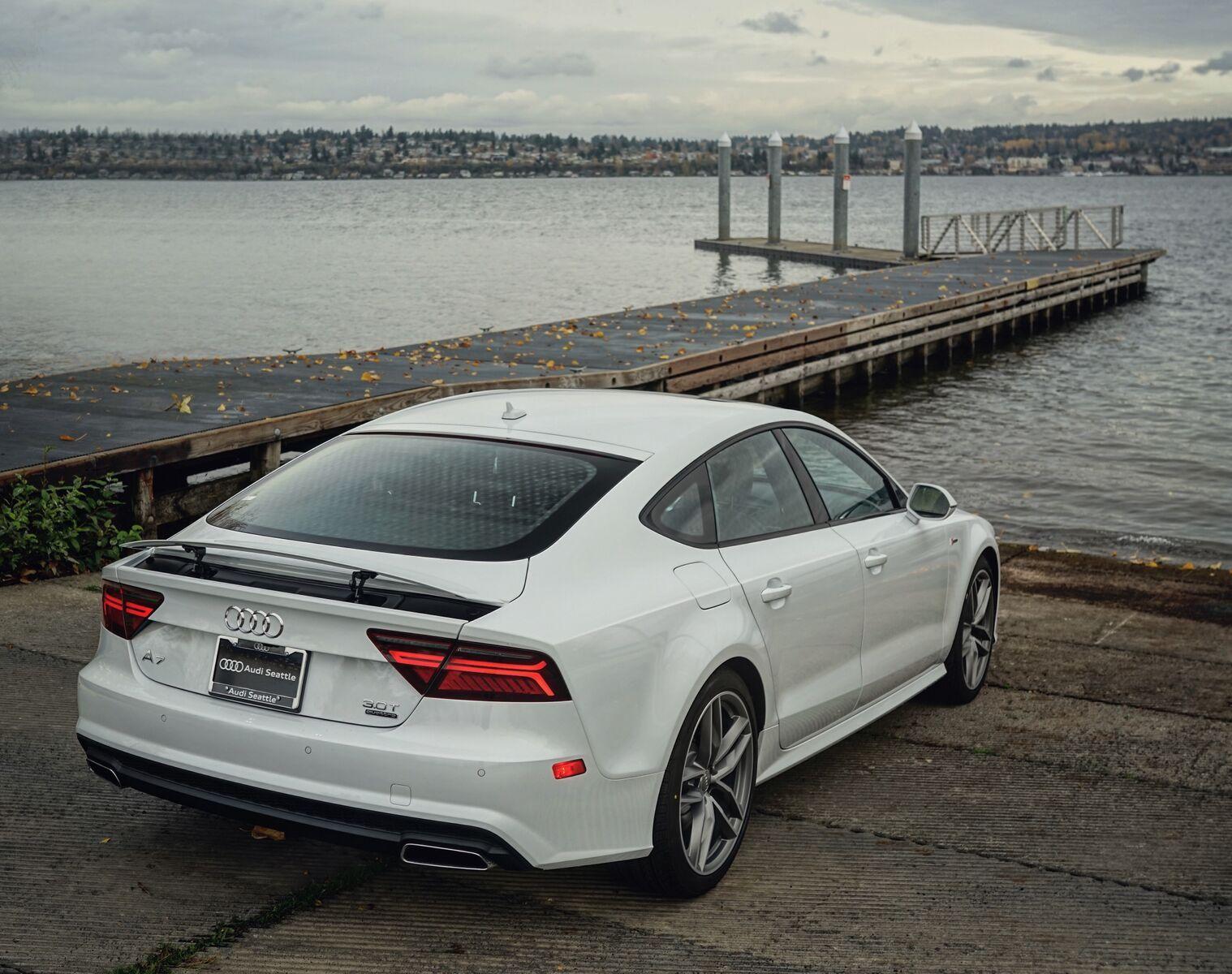 2016 Glacier White A7 Audi Seattle U District Seattle Wa Audiseattle Com Avtomobil