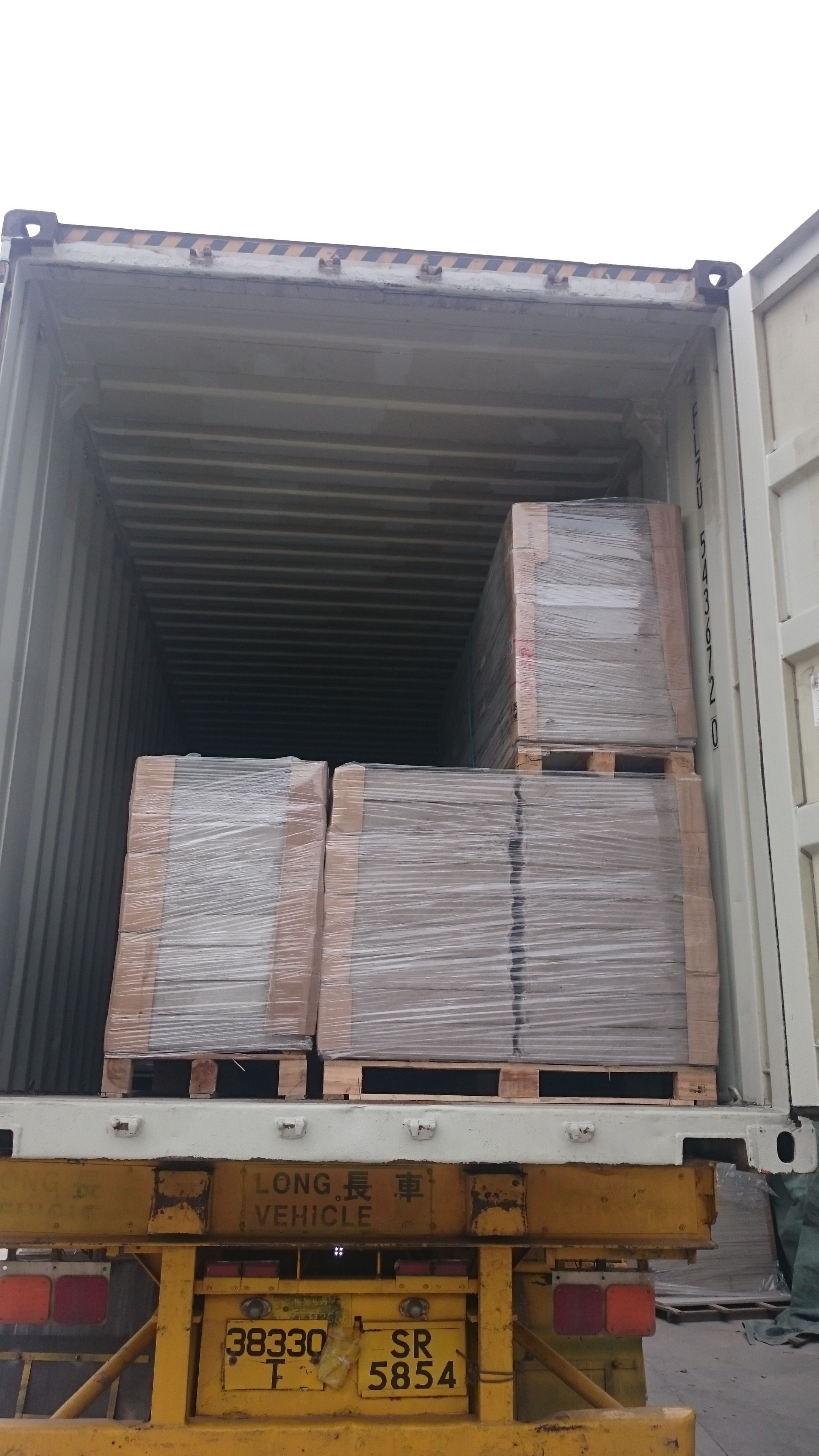 Eps Sandwich panel - container loading | EPS Sandwich Panel