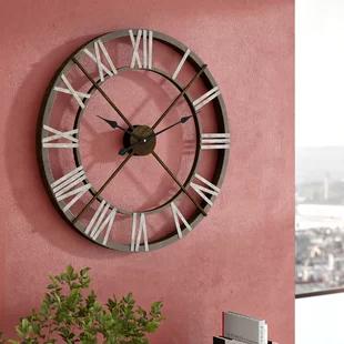 Horloges Murales Wayfair Ca Wall Clock Oversized Wall Clock Clock