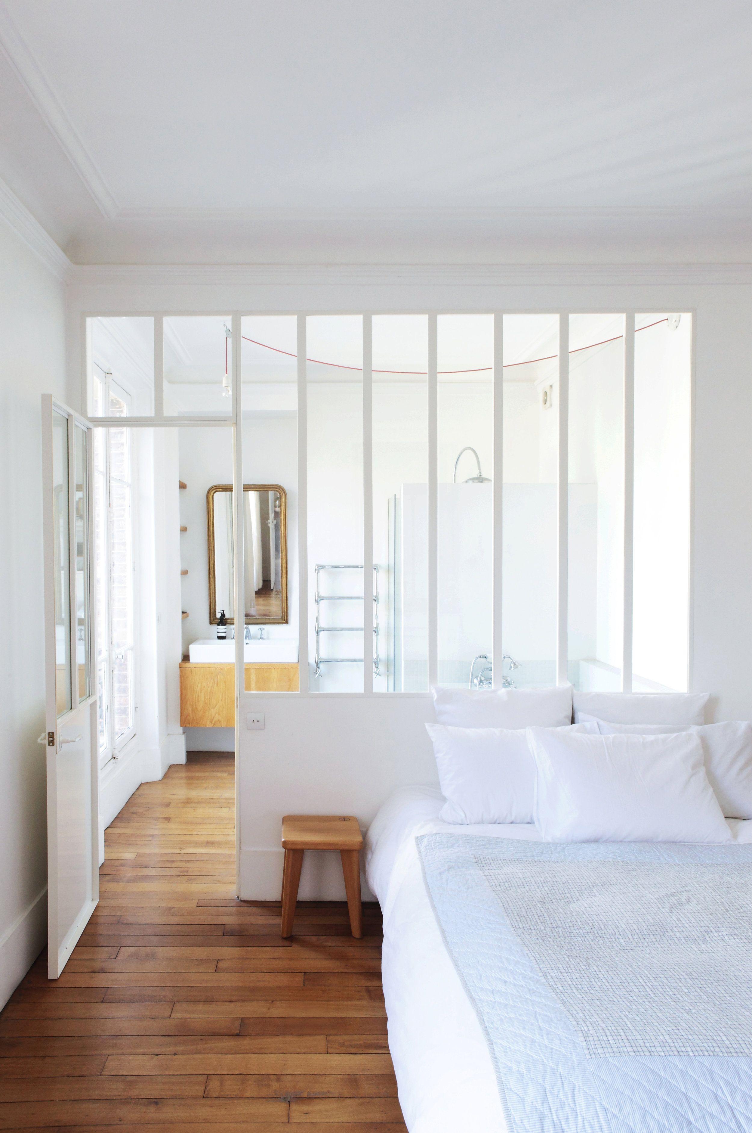 Verrière chambre salon | Ideas for the House | Verrière chambre ...