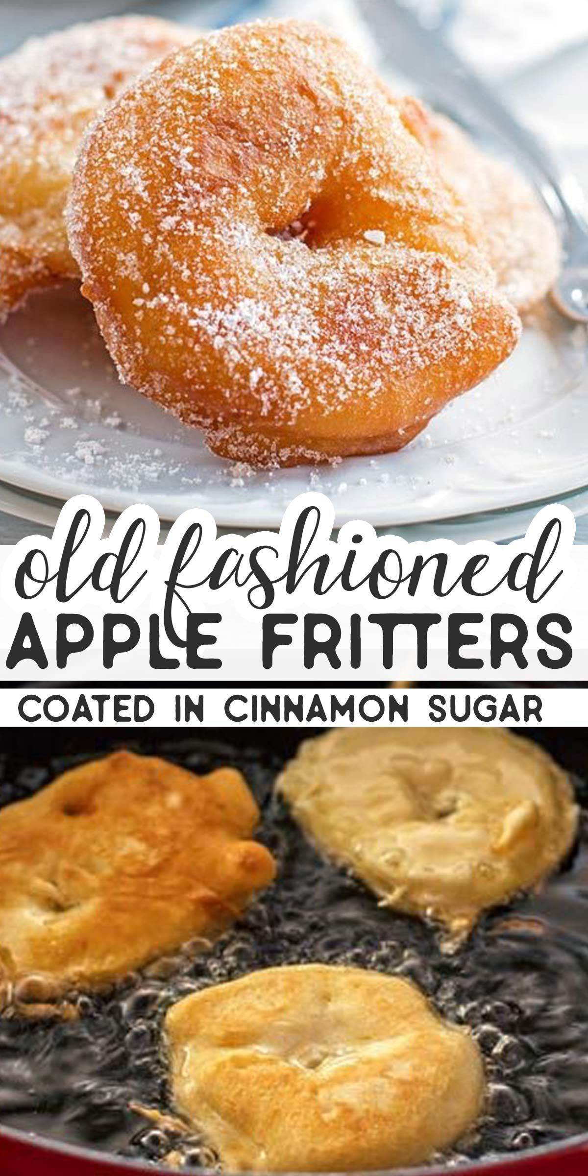 you looking for the BEST Old Fashioned Apple Fritter recipe? You should give this easy homemade version a try. The apple rings are fried and then dipped into cinnamon sugar – fall perfection! |Are you looking for the BEST Old Fashioned Apple Fritter recipe? You should give this easy homemade version a try. The apple...