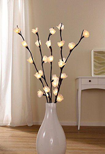 Deko Zweige Lichtblume Wohnaccessoires Pinterest