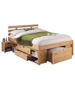 buy ultimate storage double bed frame at argoscouk your online shop