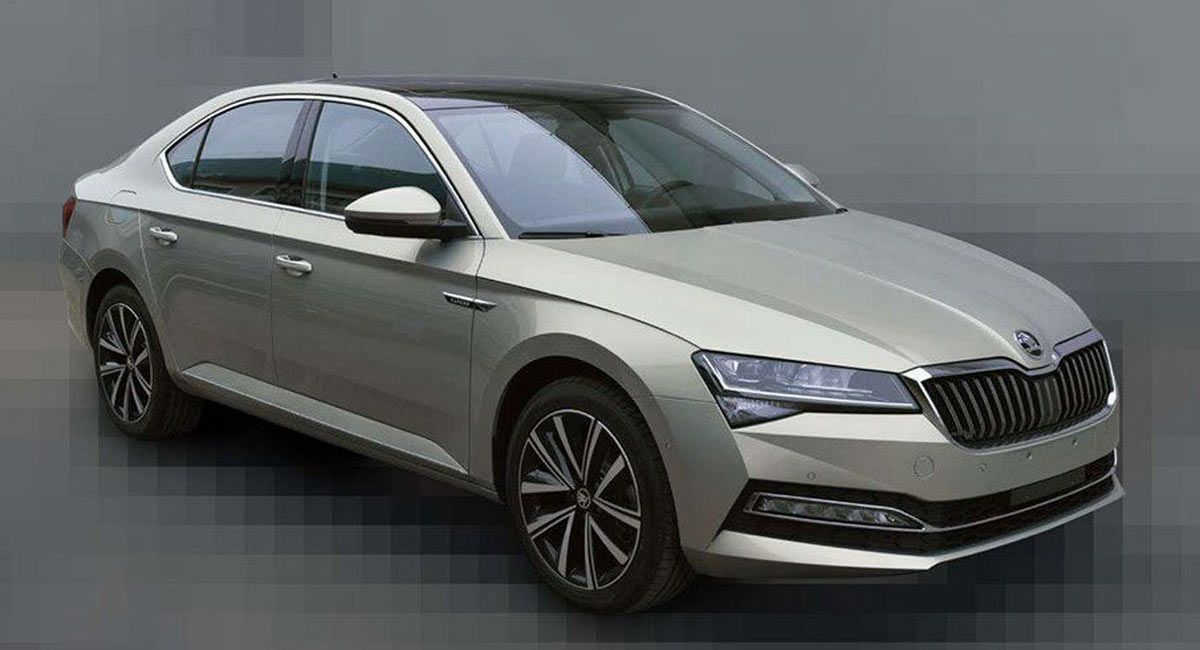 China Gets Early Dibs On 2020 Skoda Superb Facelift Officially