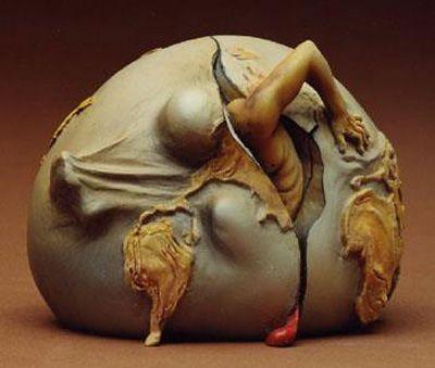 """Birth of the New Man"" - Salvador Dali"