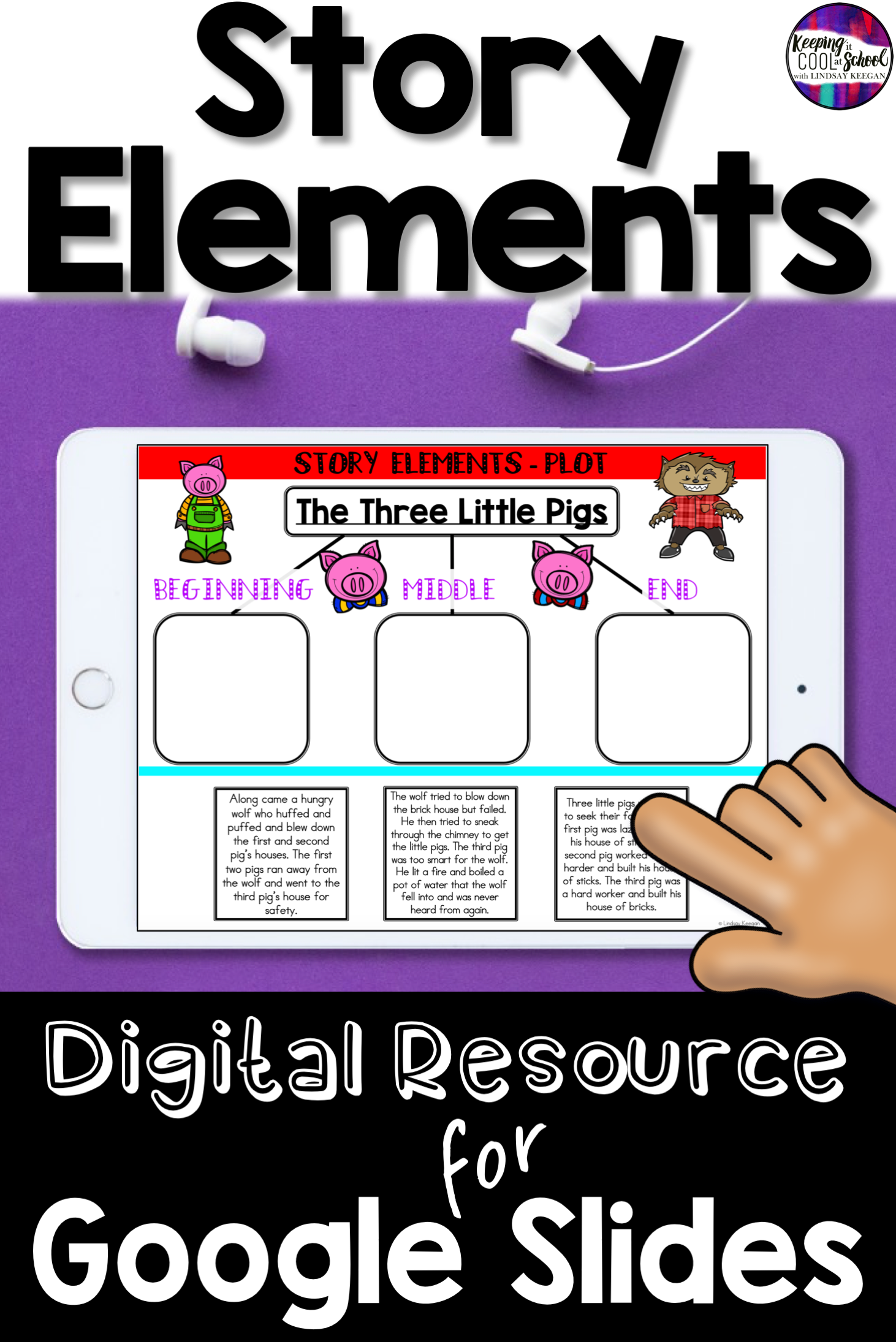 Story Elements Classroom Distance Learning In