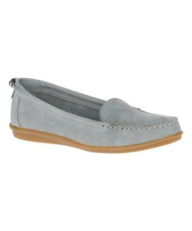 Love This Frost Gray Endless Wink Nubuck Loafer On Zulily