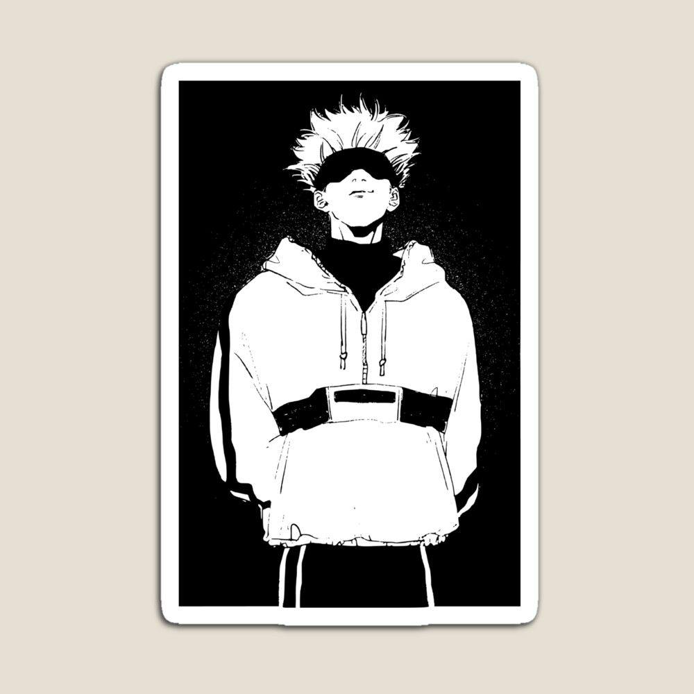 Satoru Gojo Jujutsu Kaisen Magnet By Bangcen In 2021 Jujutsu Anime Guys Anime