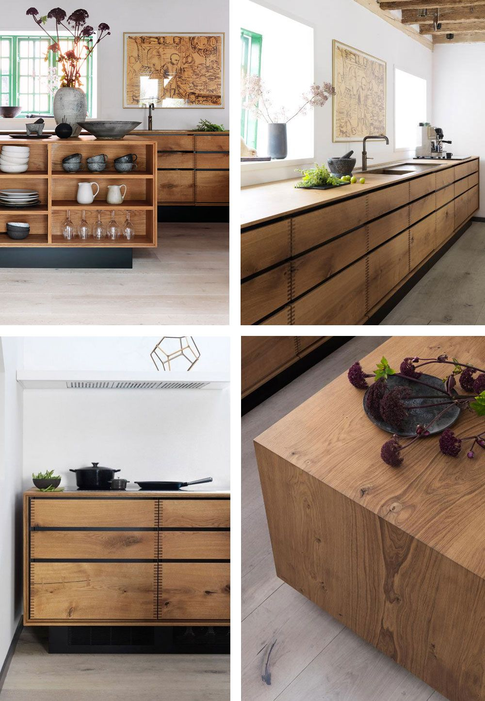 5 Fantastic Kitchens with Oak Cabinets Done Right | Wooden ...