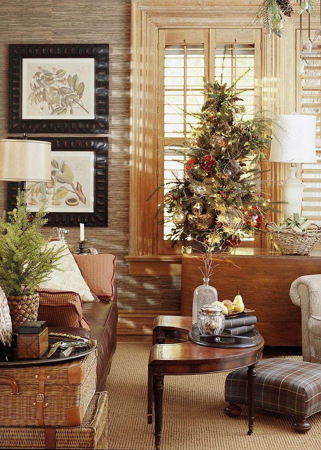 TraditionalChristmasDecoratingIdeas Rustic Christmas Ideas TraditionalChristmasDecor TraditionalChristmas