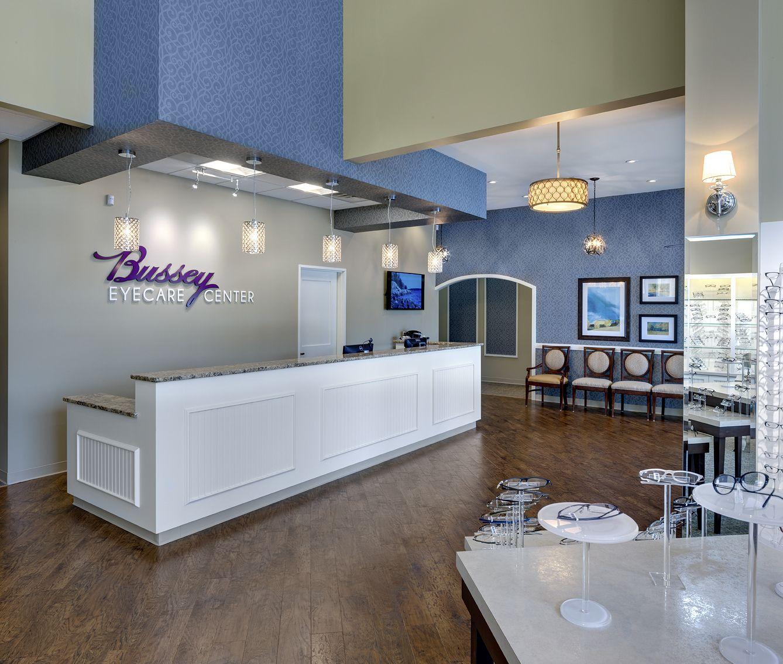 Bussey Eyecare Clinic Optical Office Design Barbara