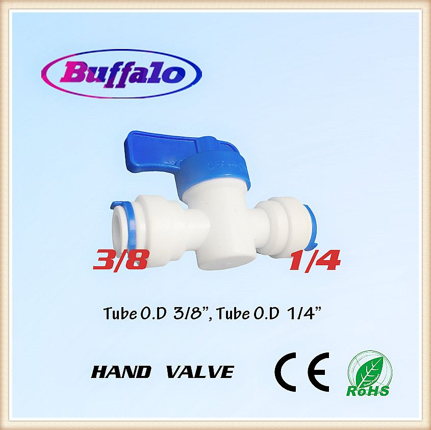 25pcs Reverse Osmosis Ro System Shut Off Valve Speedfit To Speedfit 1 4 3 8 Valve Ro Push Fit Connector Fittings Affiliate Valve Water Systems Plumbing