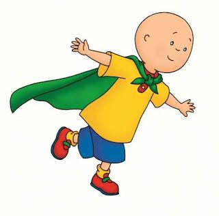 Cartoon Characters More Caillou Pictures Caillou Pbs Kids Superman