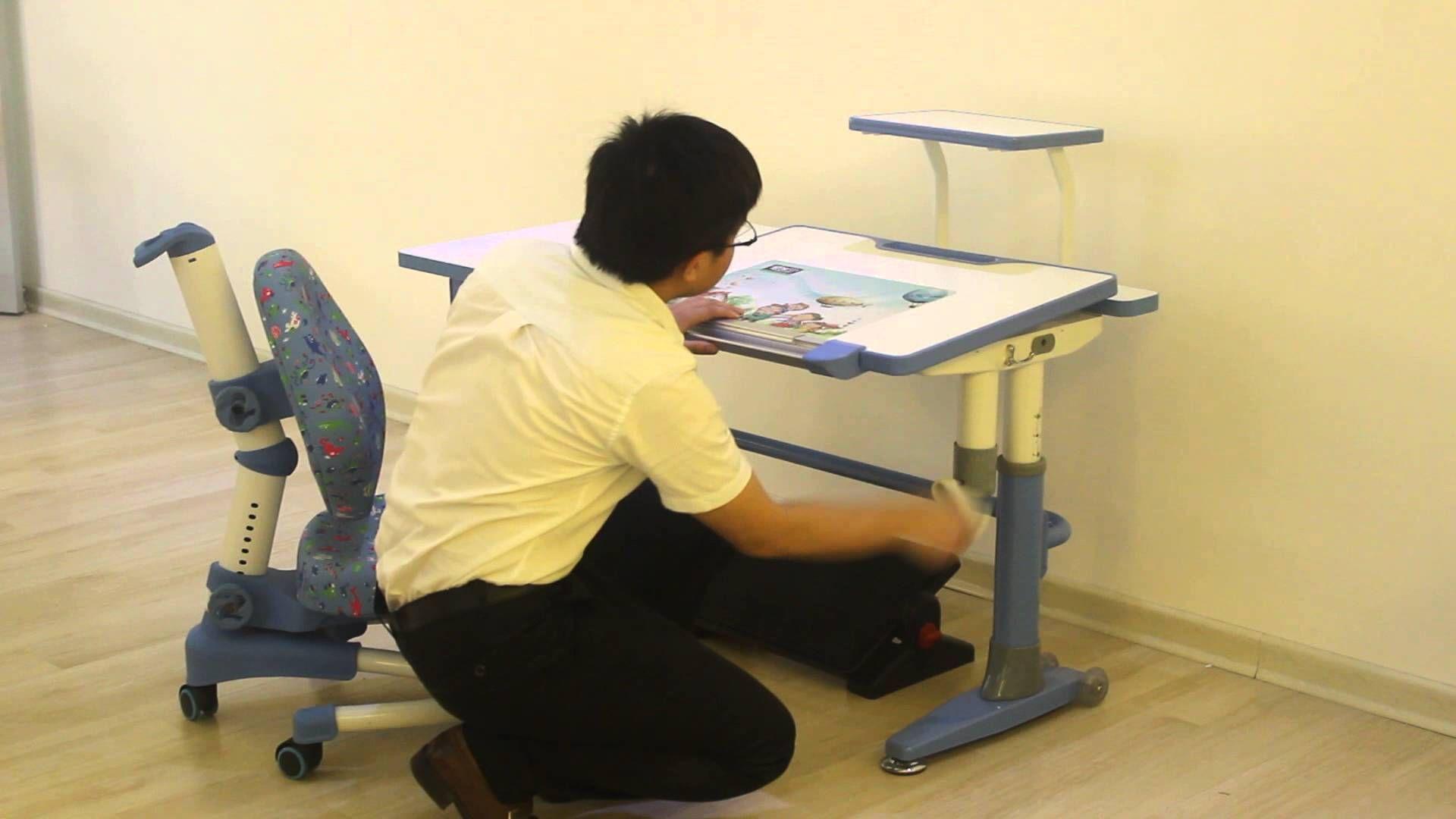 Hya102 Kids Study Table Kids Desk Ergonomic Desk