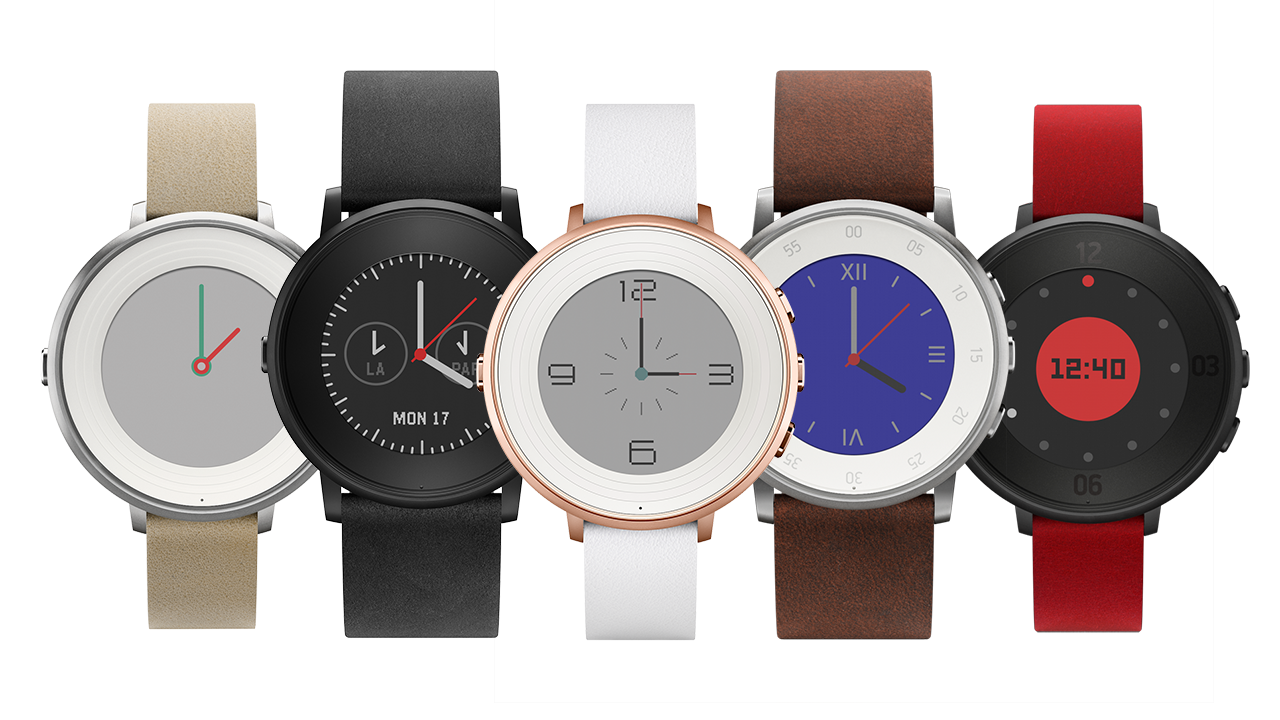 Ver Pebble Time Round: el primer smartwatch circular de Pebble