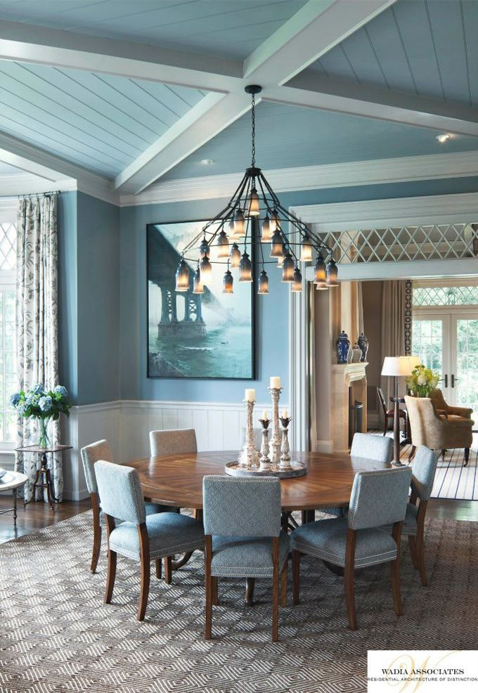 Beautiful Blue Dining Rooms: Dining Room Blue