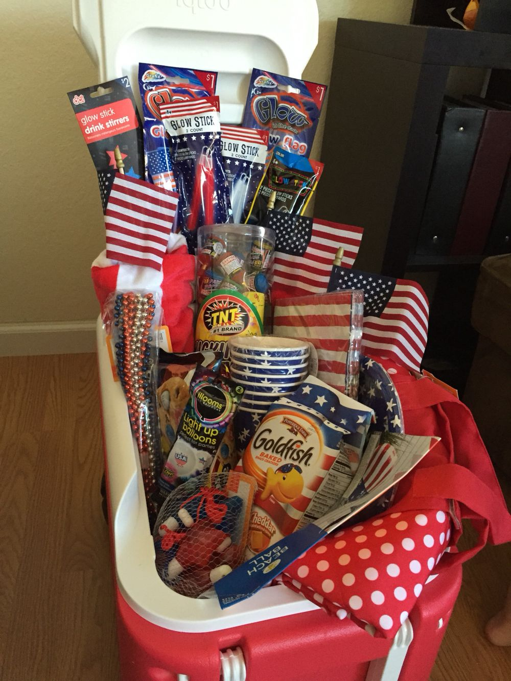 4th Of July Gift Basket 4th Of July Summer Gift
