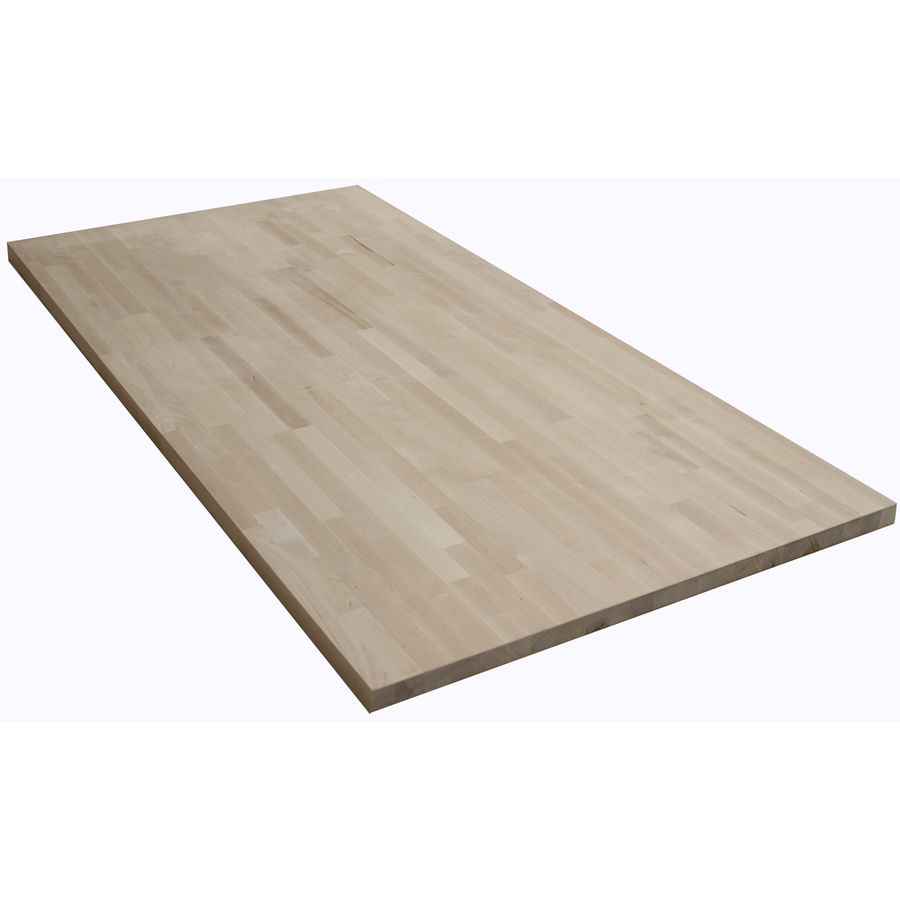 The Baltic Butcher Block 6 Ft Natural Straight Butcher Block Birch Kitchen Countertop At Lowes Com Kitchen Countertops Butcher Block Kitchen Countertops