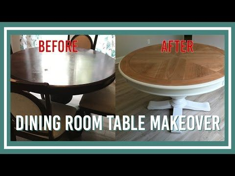 321 Dining Room Table Makeover  Youtube  Furniture Redue And Delectable Diy Dining Room Table Makeover 2018
