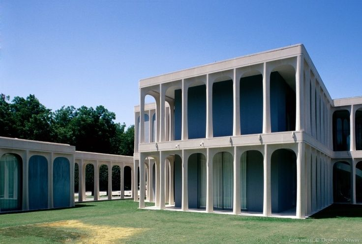 Modern Architecture Dallas philip johnson the beck house (childhood home of henry c. beck iii