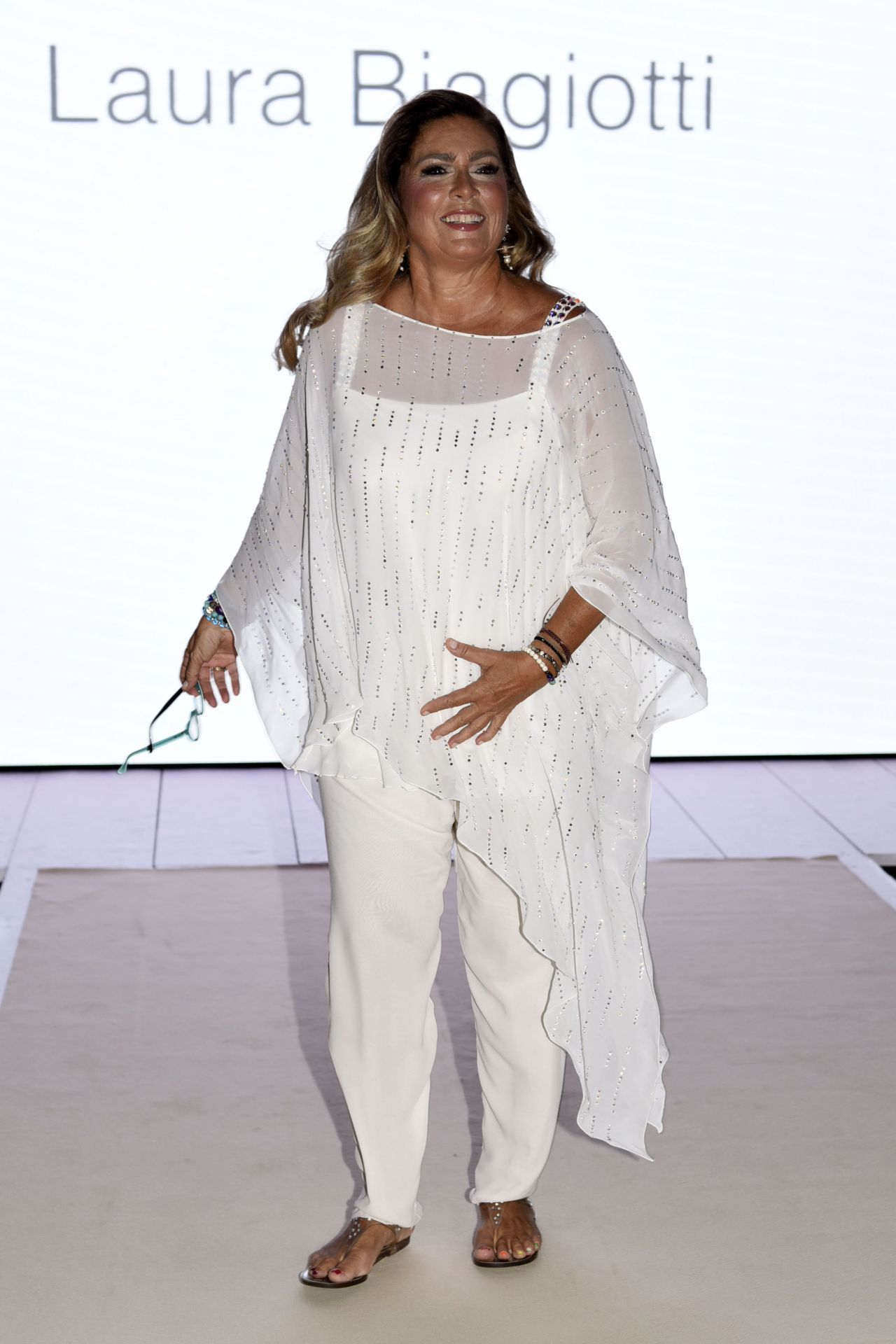 Romina Power Laura Biagiotti Show In Milan 09 24 2017 Laura