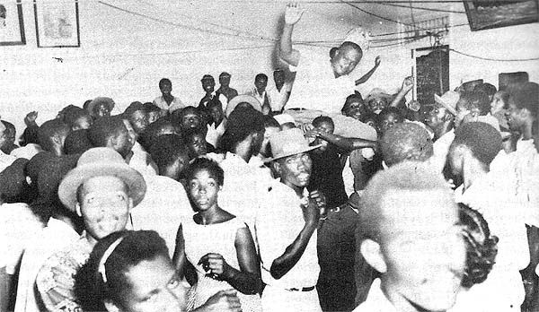 JAMAICAN DANCEHALL, late fifties with the king of sound-system, Sir Duke Reid...