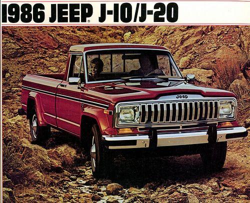 1986 Jeep J10 J20 Ad Camionetas Autos Y Camion Pesado