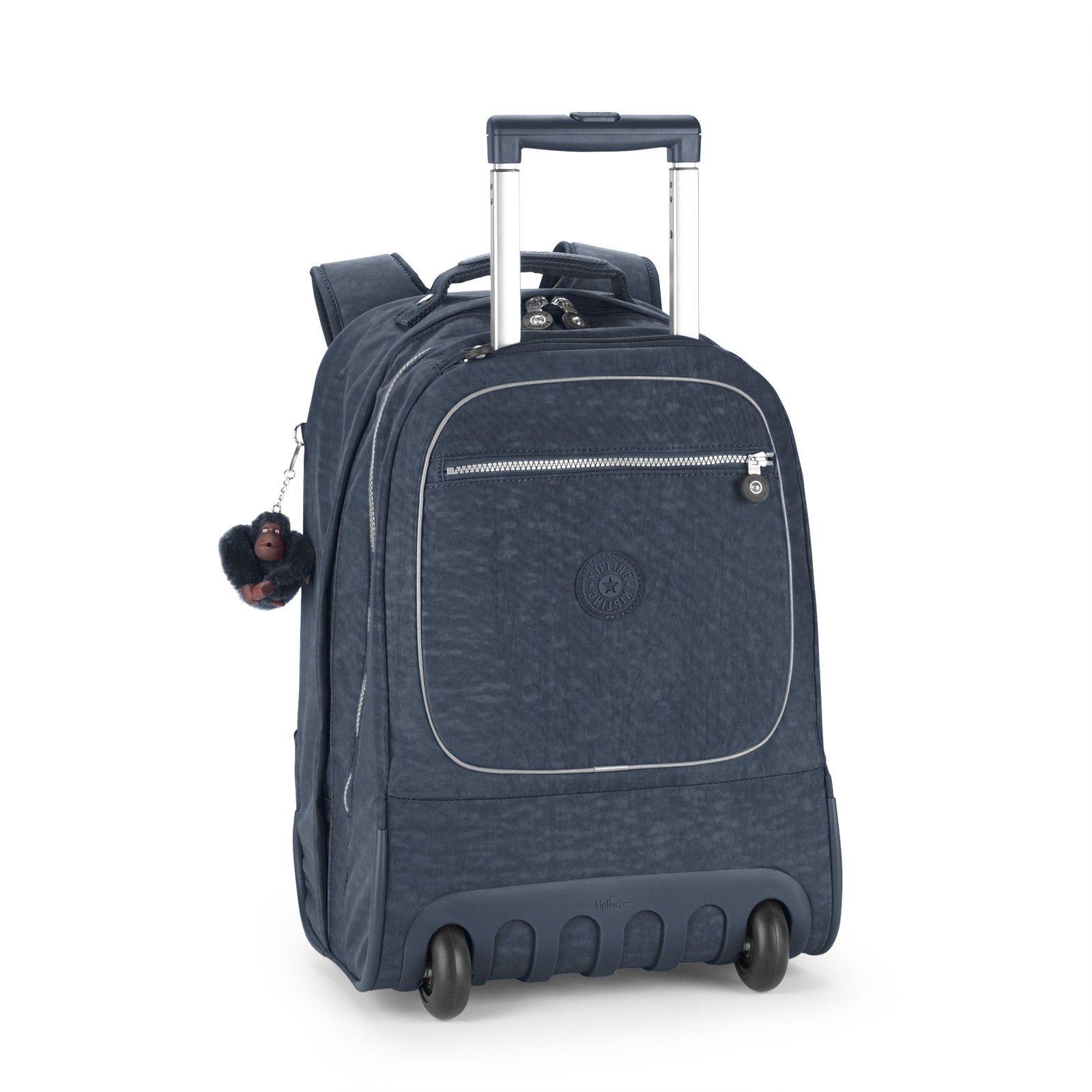 55876834b9 Kipling - CLAS SOOBIN L Wheeled Backpack in True Blue