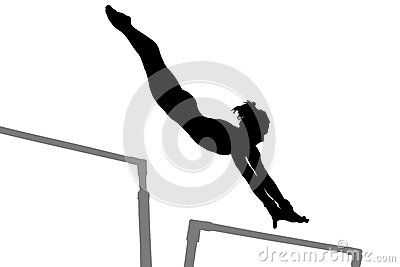 Gymnastics Woman Silhouette - Download From Over 40 ...