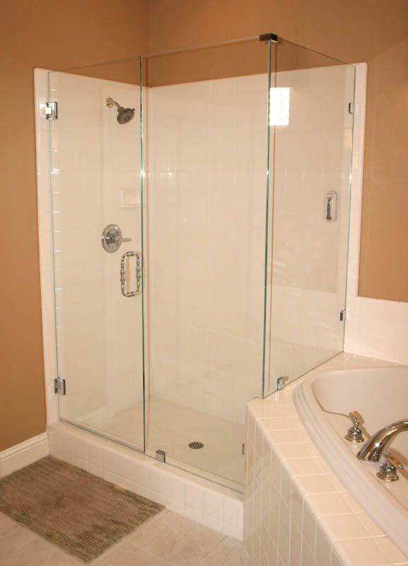 Semi Frameless Glass Shower Doors Pictures Bathroom Pinterest