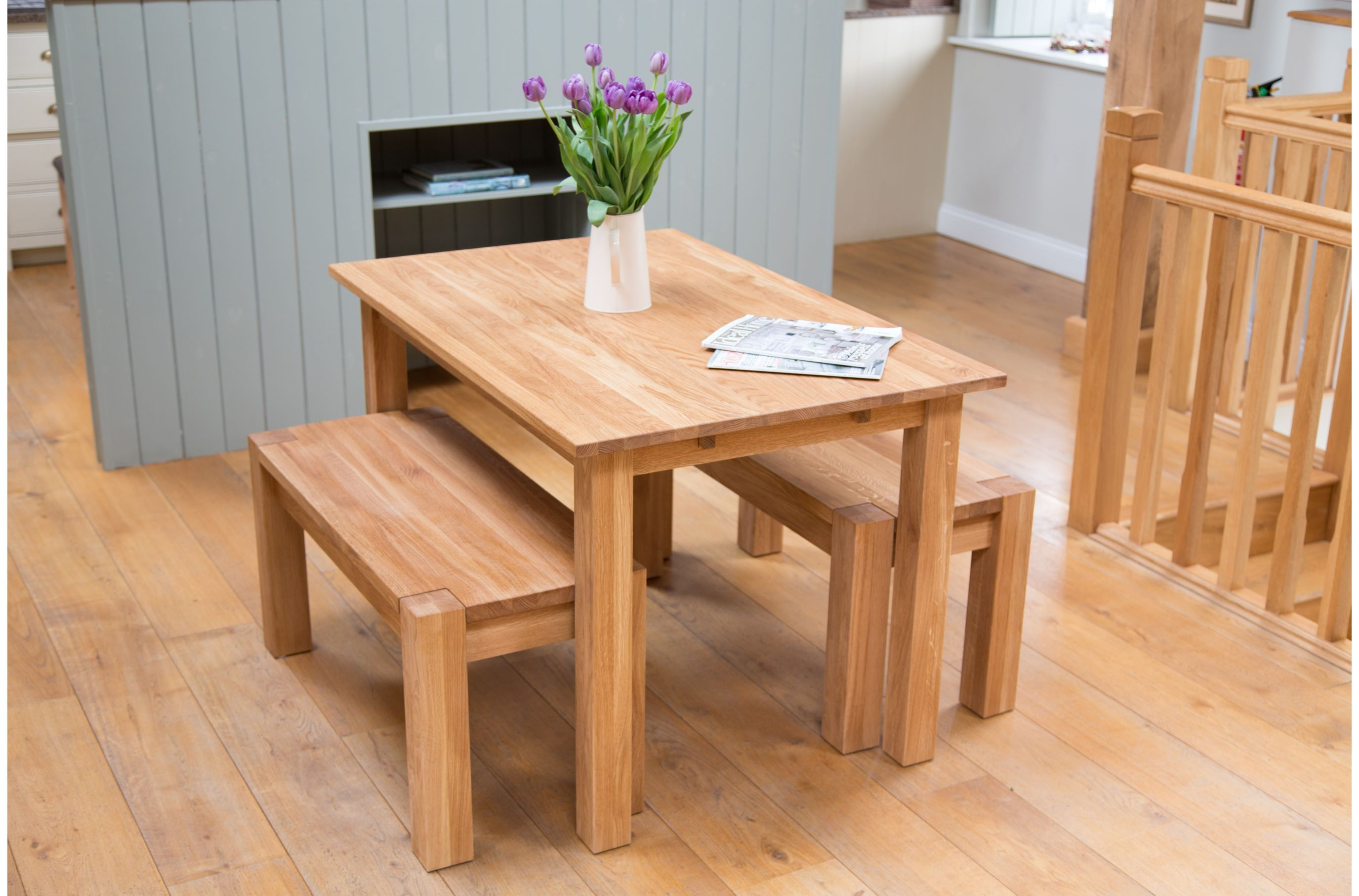 Small kitchen table and bench set from TopFurniture.co.uk | Tables ...