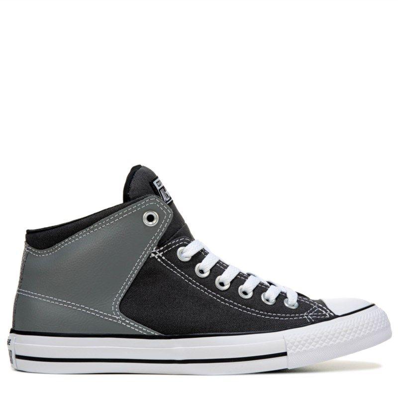 d1f1defe19f8 Converse Men s Chuck Taylor All Star High Street High Top Sneakers (Dark  Grey Lt Grey)